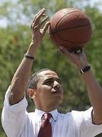 Mr. Obama taking a shot