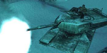 Vulcan Raven in his M1 Abrams Tank.