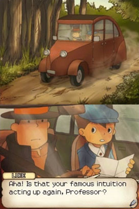 Professor Layton arrives to save the day!