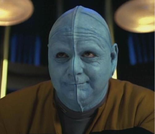 Chell as seen on Star Trek: Voyager