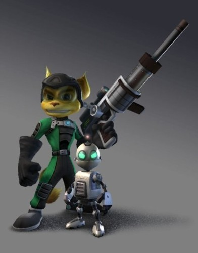 Ratchet and Clank going Commando!
