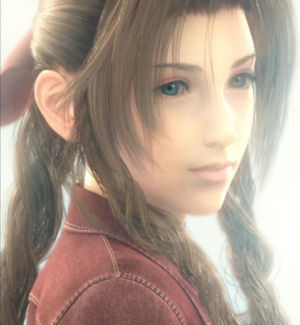 Aerith plays an important role in Advent Children.