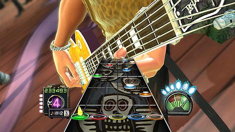 Hey look! Guitar Hero!