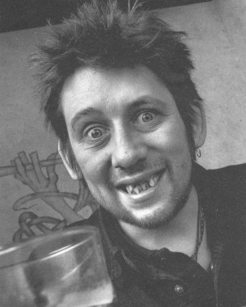 Matches my profile picture, Shane Macgowan is probably my favorite musician right now (inspite of the fact that he has no teeth) and he looks like the typical irish drunkard that im slowly but surely becoming.