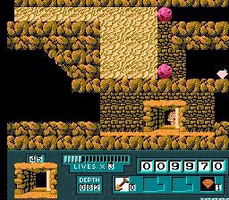 A cavern exit.