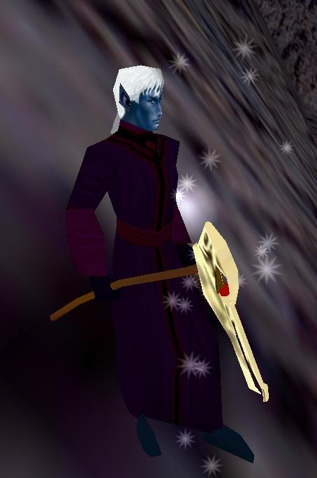 Dark Elf Necromancer