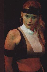 Kerri Hoskins as Sonya Blade