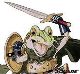 Frog With Sword And Shield.