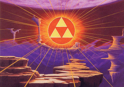 The Triforce from A Link To The Past