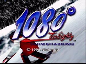1080° Snowboarding - Title Screen