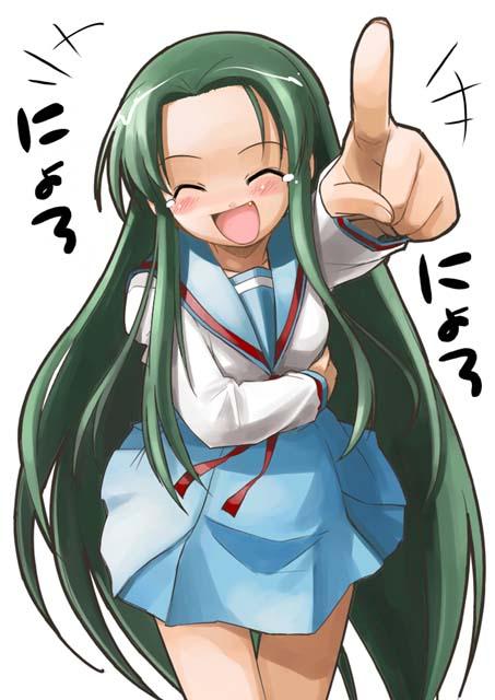Tsuruya - did I mention she likes to laugh?