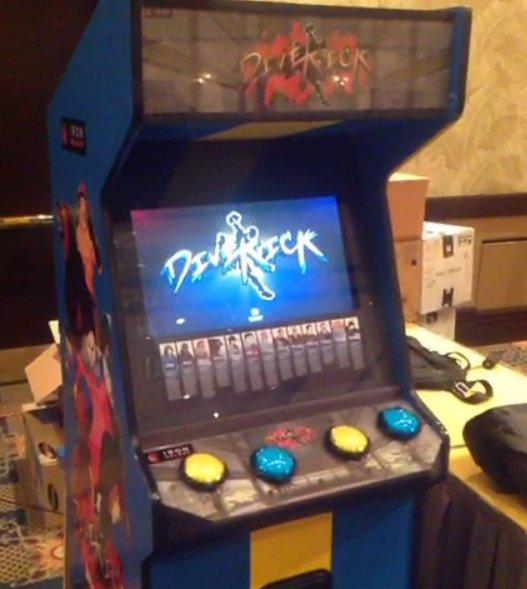 CEO 2013 - Divekick Arcade Cabinet