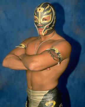 Rey Mysterio. No relation to Luchadeer.