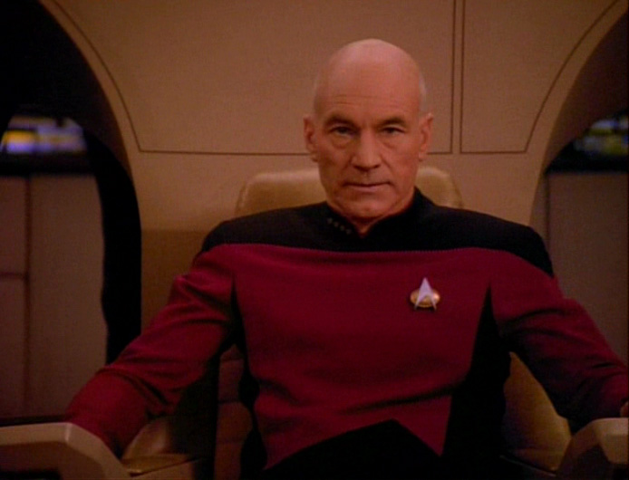 Picard in control.