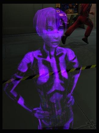 Cortana in Halo: Combat Evolved