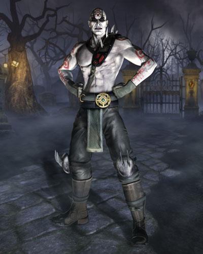 Quan Chi, as not seen in Mortal Kombat vs. DC Universe.