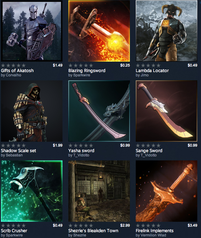 Would you pay for Dota swords or drop 49 cents for a hammer in a game full of weapons? I sure as hell wouldn't!