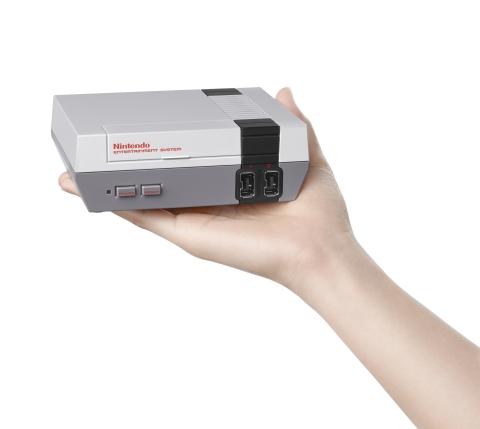 I can palm a basketball, but a Nintendo?