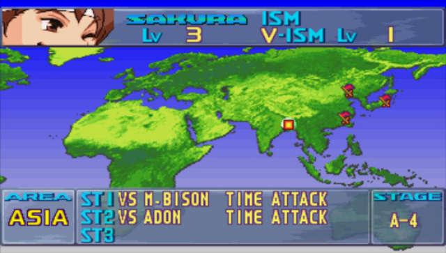 World Tour Screen