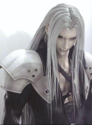 Sephiroth as he appears in Advent Children