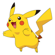 Pikachu, one of the original generation of Pokemon available in the game.