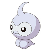 Castform, a Pokemon that changes with the weather.