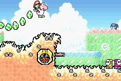 The GBA version of the game