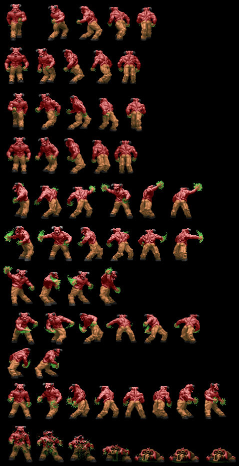 Baron of Hell sprites