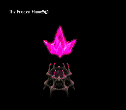 The Frozen Flame - an ancient artifact with the power to grant wishes.