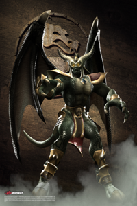 Onaga, the resurrected Dragon King and the main antagonist of the game.