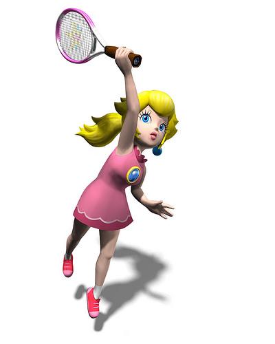 Mario Power Tennis - Character Art