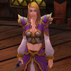 Jaina Proudmoore as she is seen in World of Warcraft