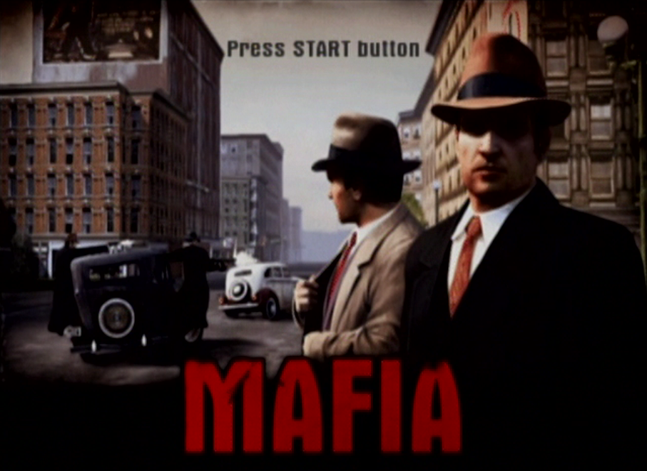 The two main characters of Mafia, Tommy Angelo and Paulie.