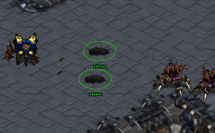 Lurkers engaging a Dragoon