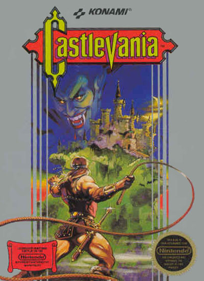 Castlevania Box Art (NES)