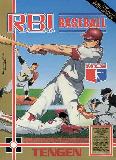 R.B.I. Baseball Box Art