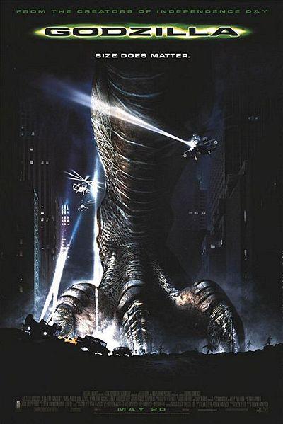 American Godzilla movie poster