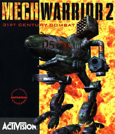A Timber Wolf gracing the cover of MechWarrior 2