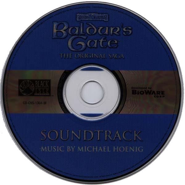 Baldur's Gate OST CD