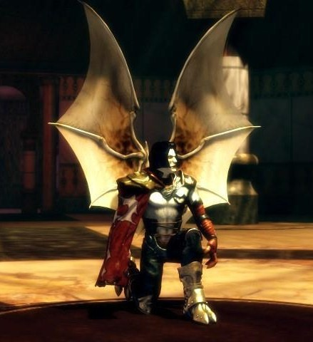 Raziel spreads his wings