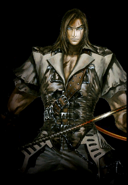Trevor Belmont, the first in the line to defeat Dracula.