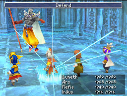 The DS remake of Final Fantasy III was the first edition to see international release