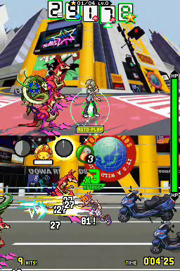 The game has been hailed for its complex and unique dual-screen combat.