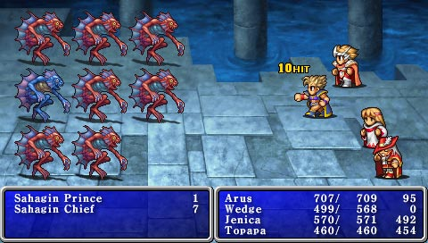 The GBA remake doesn't look this nice, but the art is the same.