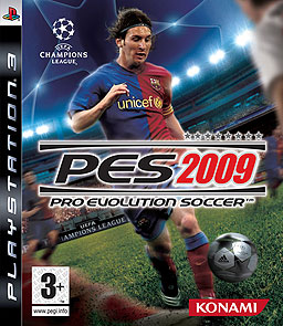 PES 2009 Cover Featuring Lionel Messi