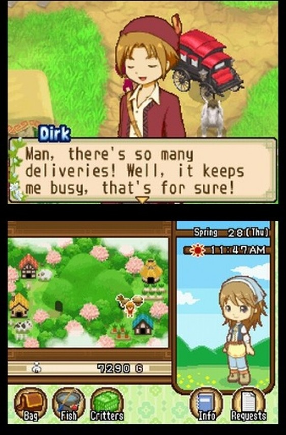 Dirk delivering mail to your farm