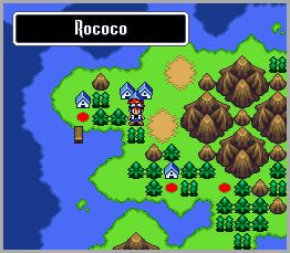 The overworld map system is akin to Super Mario Bros. 3.