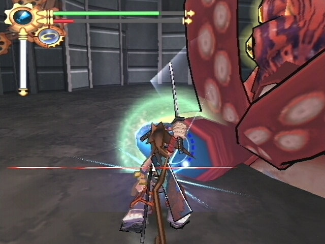 A lack of some type of dodge roll is really noticeable in a boss fight.