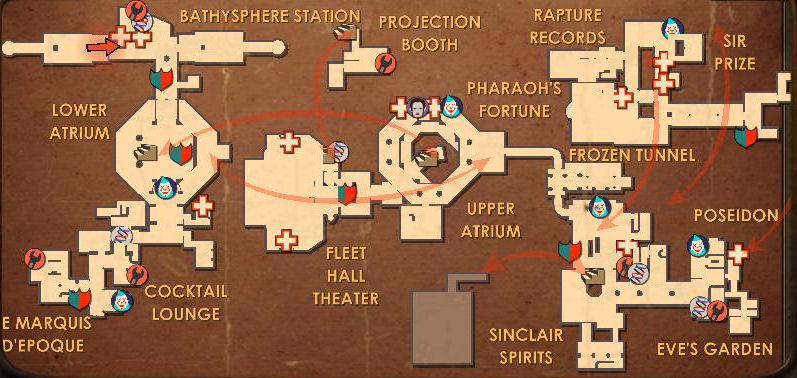 Map of Fort Frolic