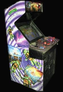 TMNT : Turtles in Time Arcade Machine